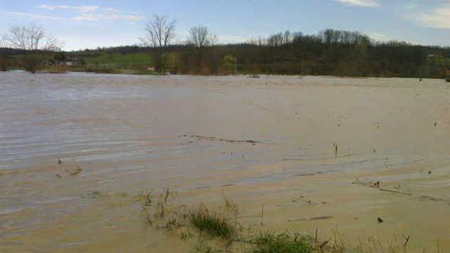Poplavljeno imanje - ©Agromedia