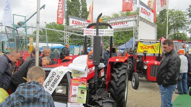 IMT na Poljoprivrednom sajmu u Novom Sadu - © Budimir Novović/Agromedia