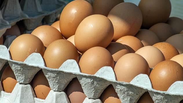 Jaja na pijaci - © Agromedia
