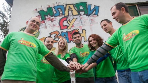Grupa mladih aktivista Kobra - ©Milan Stoiljković
