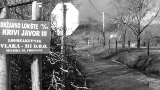 Tabla za loviste kraj puta - Foto: Miroslav Mašić