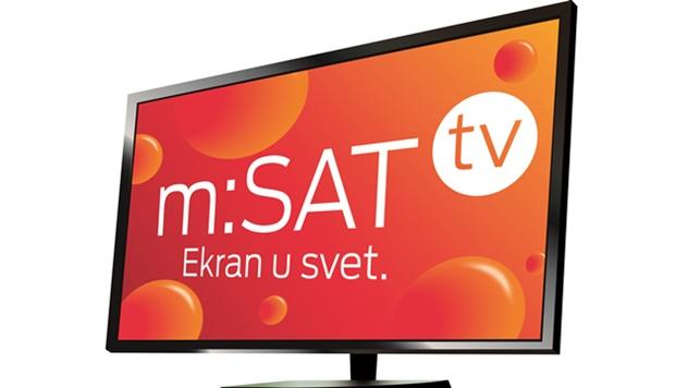 m:SAT televizija za sela i vikend naselja - © Telekom Srbija