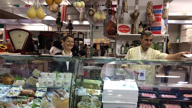 Italijanski proizvodi na sajmu u Bugarskoj © Agromedia