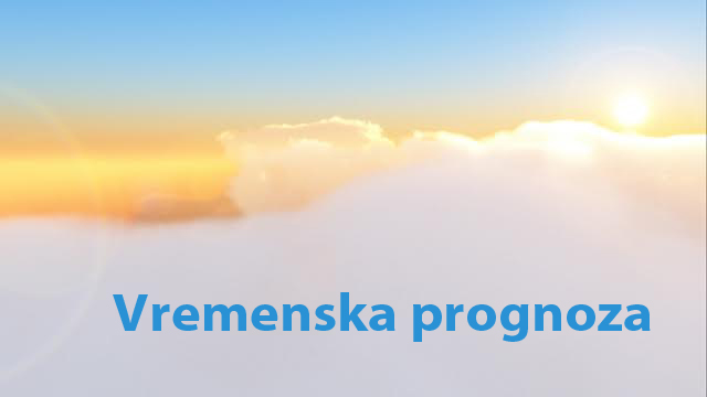 Vremenska prognoza za period 03-09.10.2015.
