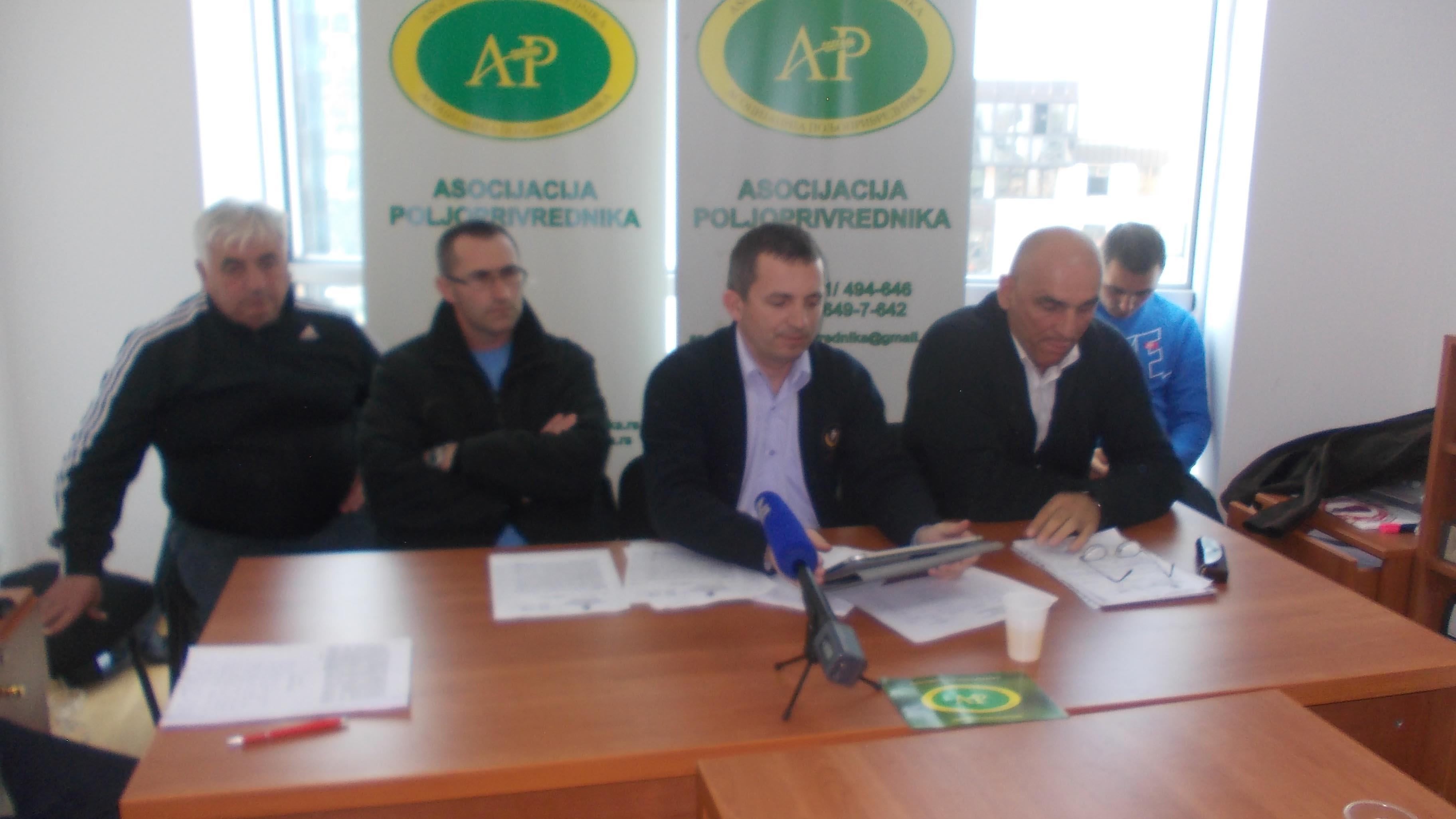 Asocijacija poljoprivrednika preti nadležnima krivičnim prijavama i protestima