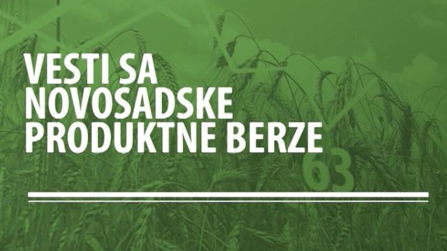 Vesti sa novosadske Produktne berze za period 09-13.05.2016.