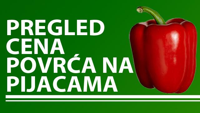 Cene povrća na zelenim pijacama za period 22-26.08.2016.