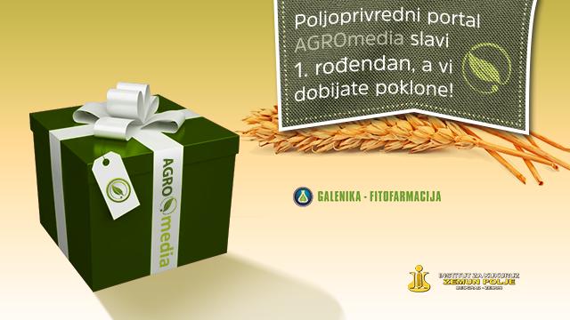 "Institut za kukuruz ""Zemun Polje"" i ""Galenika-Fitofarmacija"" DARUJU POLJOPRIVREDNIKE zbog proslave 1. rođendana portala AGROmedia!"