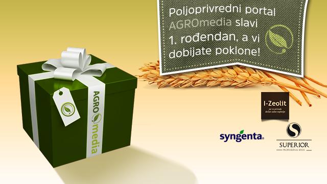 POSLEDNJE DARIVANJE POLJOPRIVREDNIKA zbog proslave 1. rođendana portala AGROmedia!