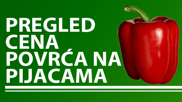 Cene povrća na zelenim pijacama za period 21-25.11.2016.