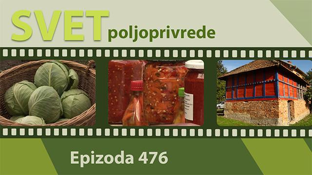 Svet poljoprivrede - epizoda 476.