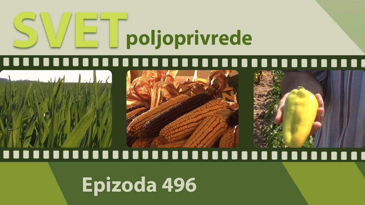 Svet poljoprivrede - epizoda 496.