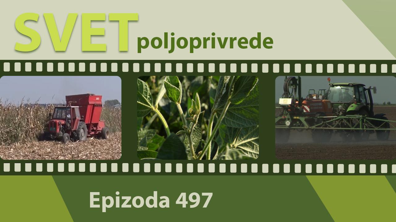 Svet poljoprivrede - epizoda 497.