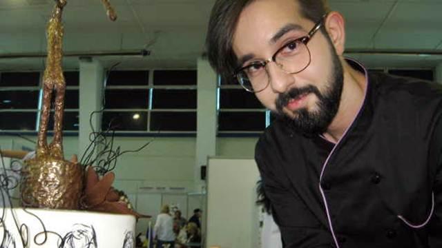 Slikar na marcipanu: Na tortama odaje počast velikim umetnicima