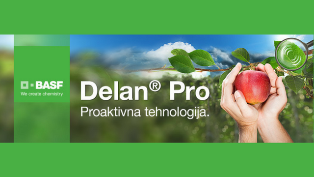 Nova formula za zaštitu jabuka - Delan® Pro