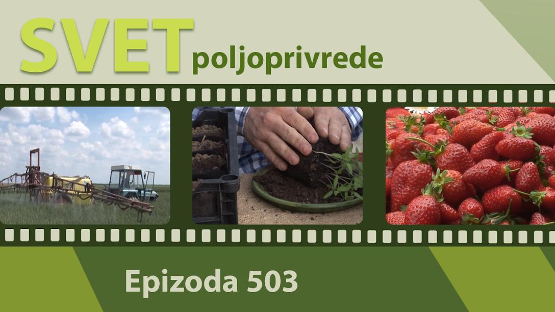 Svet poljoprivrede - epizoda 503.