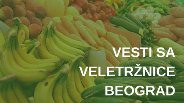 Veletržnica Beograd: Najveći promet crnog luka