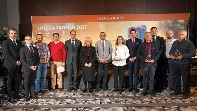 Banca Intesa izabrala najuspešnije poljoprivrednike u 2017. godini
