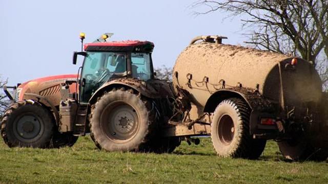 Nitratna direktiva - ograničava upotrebu azota u poljoprivredi