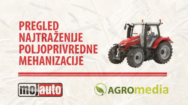 Pregled najtraženije poljoprivredne mehanizacije za period 10.02-17.02.2018.