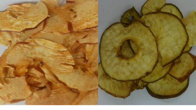 Tehnologija sušenja jabuke i kruške