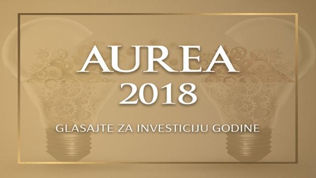 Aurea 2018 - u užem izboru 8 projekata