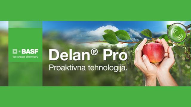 Delan® Pro - nova formula za zaštitu jabuka