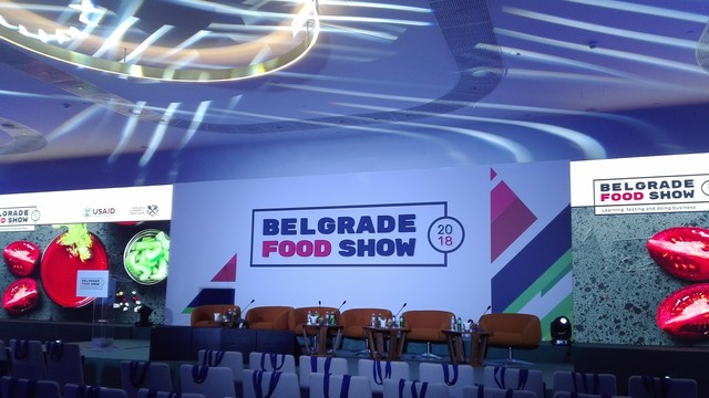 Pirotska Mlekarska škola na Belgrade food show sajmu