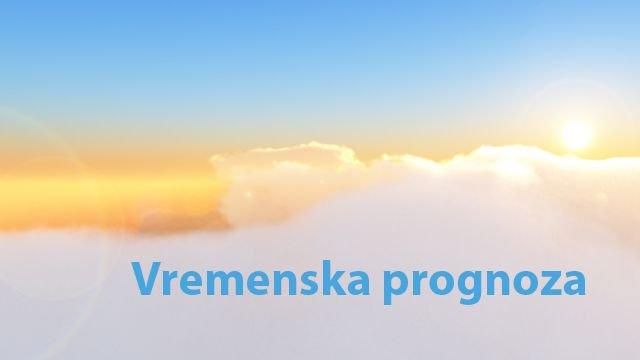 Vremenska prognoza za period 29.12.2018-04.01.2019.