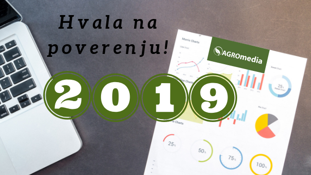 Rezultati portala AGROmedia na početku 2019.