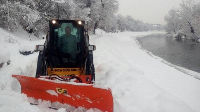 Vanredna situacija zbog snega i na području Kraljeva