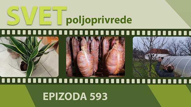 Svet poljoprivrede - epizoda 593.