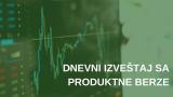 Dnevni izveštaj sa Produktne berze za 08.5.2019.