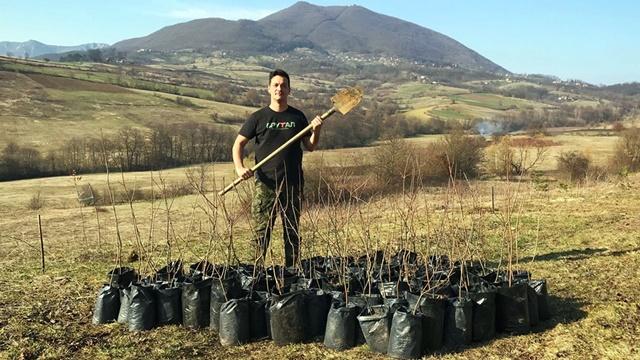 Internacionalna šuma: U Čačku raste drveće iz svih delova sveta