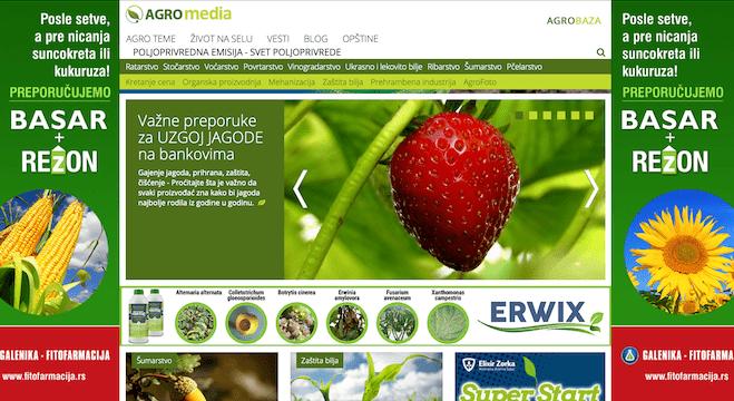 AGROmedia imala više od 1.5 miliona otvorenih strana za manje od 2 meseca