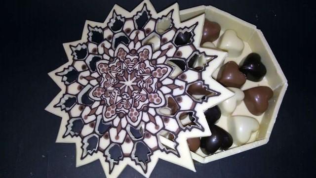 Crtanje na čokoladi - nova umetnost u poslastičarstvu!