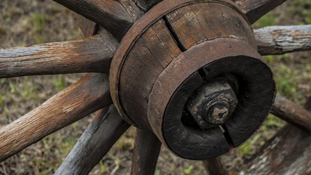 Drveni točak - © Pixabay