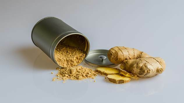 Ginger is used as a spice to prepare various dishes - © Pixabay