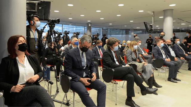Aplicación DDOR TERRA presentada en las instalaciones de la Agencia de Desarrollo de Vojvodina