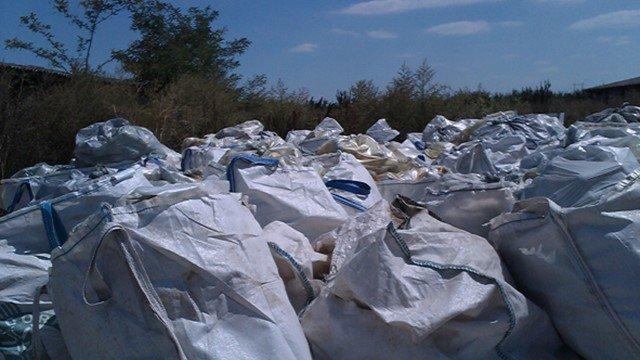 Ambalažni otpad u kesama - © Envipack