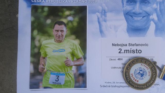 Nebojsa Stefanovic medal