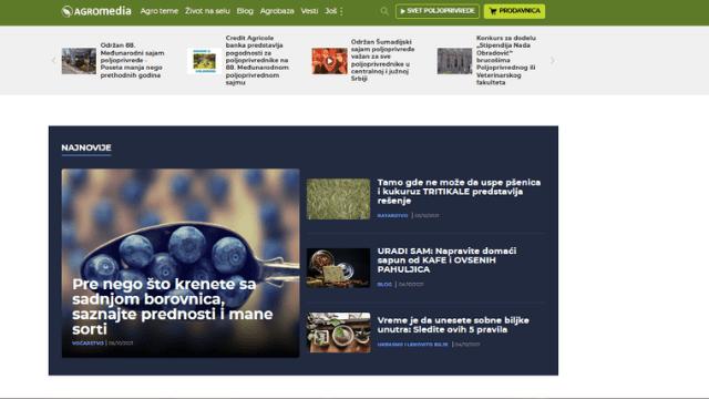 AGROmedia portal